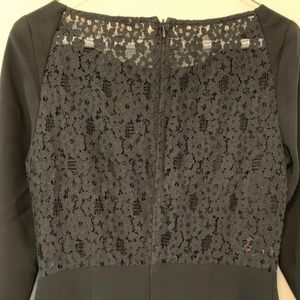 BCBG Black Lace Dress